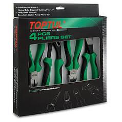 Набор шарнирно-губцевого инструмента TOPTUL 4ед. GAAE0402