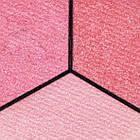 Тени для Век Qianyu MS 1203 Трехцветные Матовые Розовые Оттенки Тон 13 Декоративная Косметика, фото 3