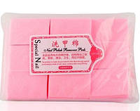 Салфетки для маникюра безворсовые (розовые) 1000шт/уп