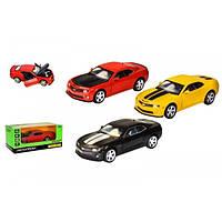 Машина метал. 68335 (7952) АВТОПРОМ,1:32 Chevrolet  Camaro  SS, 3 кол.,  світло, звук,в коробці\t