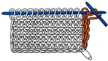 Все о кромочных петлях. Как вязать кромочные петли?