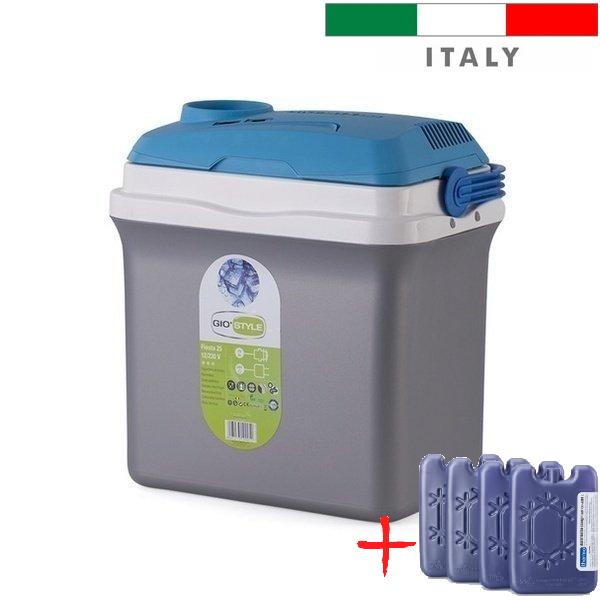 Автохолодильник Giostyle Fiesta 25 L 12/230V (термобокс, міні холодильник в машину). Італія!