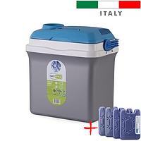 Автохолодильник Giostyle Fiesta 25 L 12/230V (термобокс, міні холодильник в машину). Італія!, фото 1