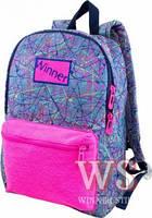 Рюкзак школьный для девочек Winner 157 фиолетово-розовый