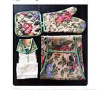 Кухонный набор с фартуком, полотенцем, прихваткой и рукавицей, фото 3