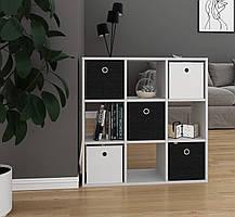 Разделитель комнаты, стеллаж для зонирования комнаты, шкаф для книг, игрушек и цветов, полка для книг P0018, фото 2