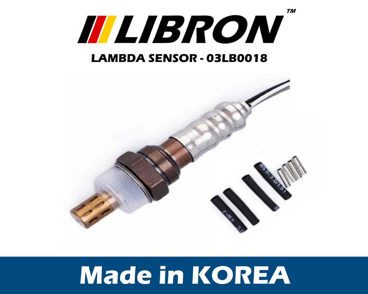 Датчик кислорода Libron 03LB0018 - Audi A4 (8EC, B7)