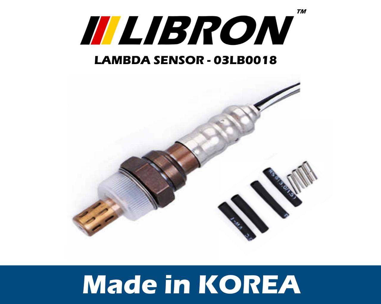 Датчик кислорода Libron 03LB0018 - Honda CIVIC VII Hatchback (EU, EP, EV)