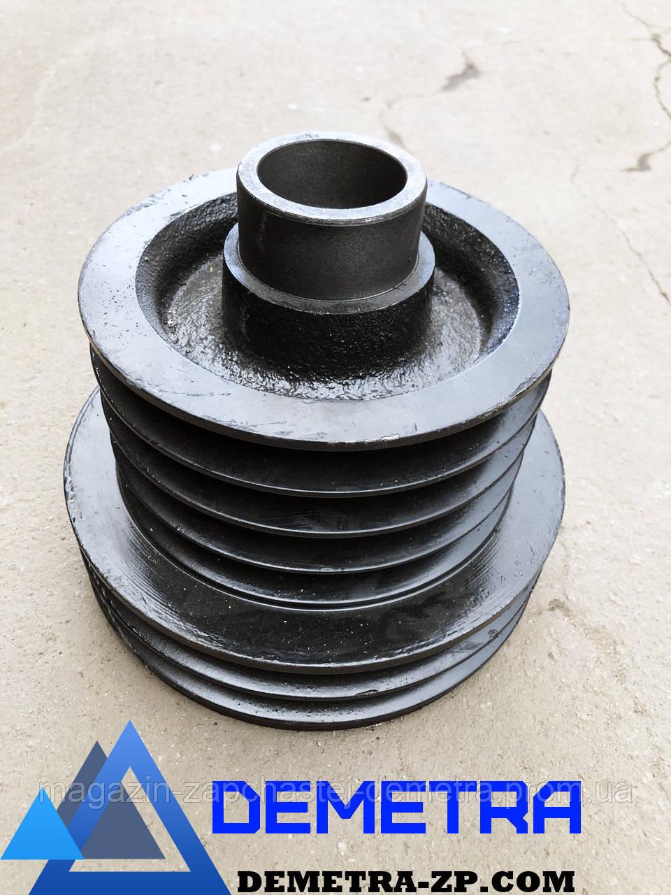 Шкив ИНК-1059 двигателя привода молотилки и измельчителя 6-ти ручейный НИВА СК-5.