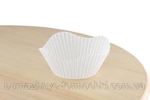 Бумажные формочки для кексов и маффинов Цветочек, 50х30