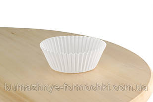 Бумажные формочки  для выпечки кексов и маффинов, 50х30 мм