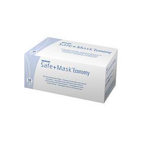Маска медична тришарова на резинках SAFE MASK® Economy нестерильна 50шт