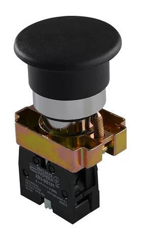 "XB2-BC21 Кнопка ""грибок"" (d 40 мм) ""Старт"" черная (A0140010080), фото 2"