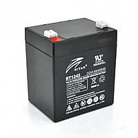 Аккумуляторная батарея AGM Ritar RT1245B 12V 4.5Ah