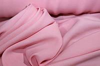 Розовый. Ткань бенгалин , растяжение по долевой! джинсовое плетение нити