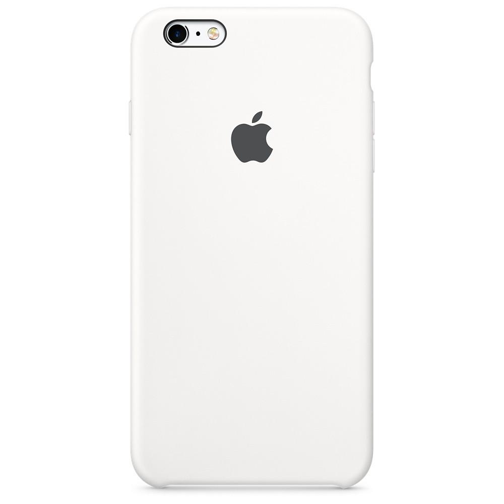 Силіконовий чохол Apple Silicone Case для iPhone 6 / 6s ((MKY12), White)