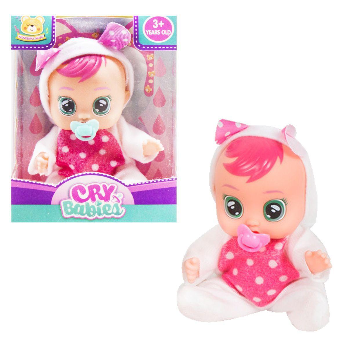 Кукла Cry Babies. Зайка