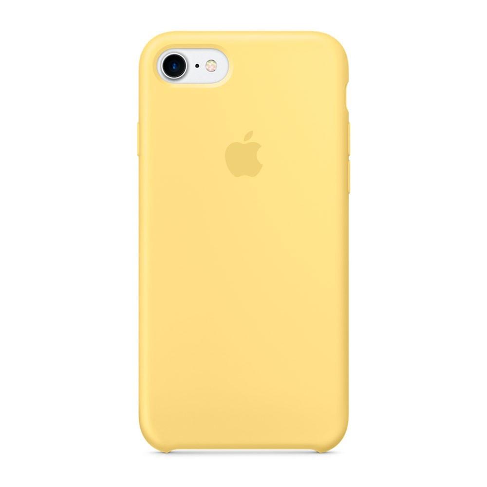 Силиконовый чехол Apple Silicone Case для iPhone 8 / 7 ((MQ5A2), Pollen)