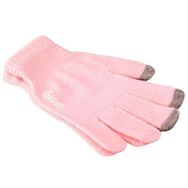 Перчатки iGlove для сенсорных экранов (Pink)