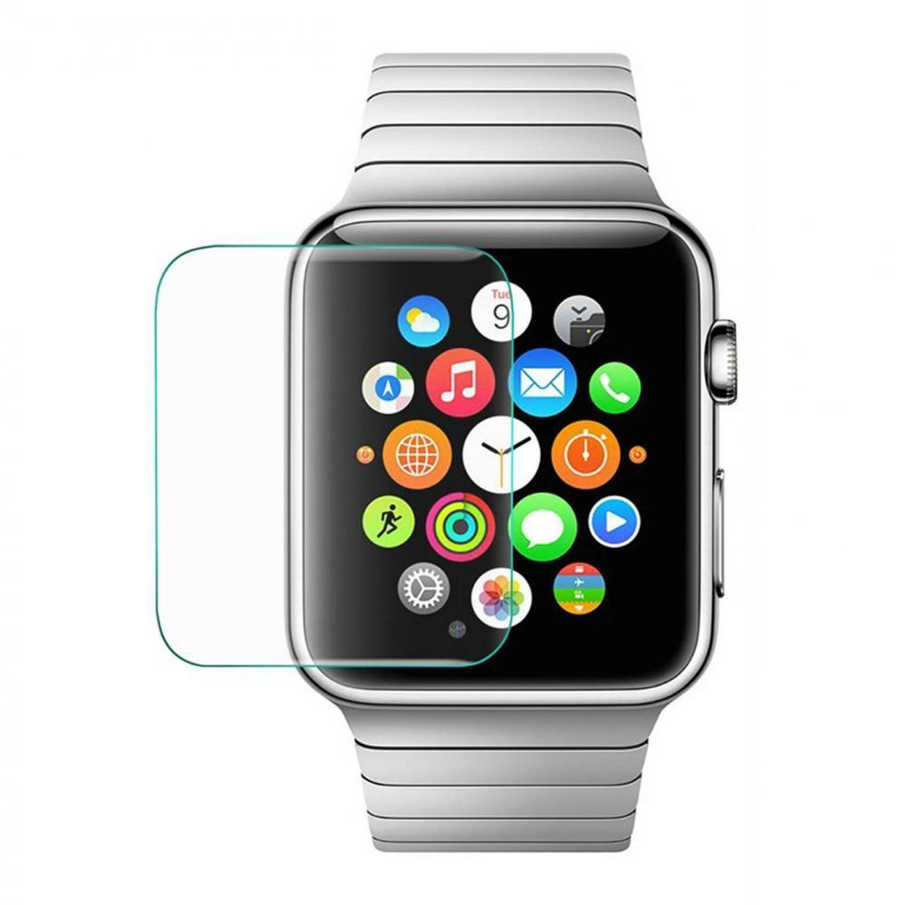Защитное стекло 2.5D For Apple Watch ((AWC38), 38mm, Clear)