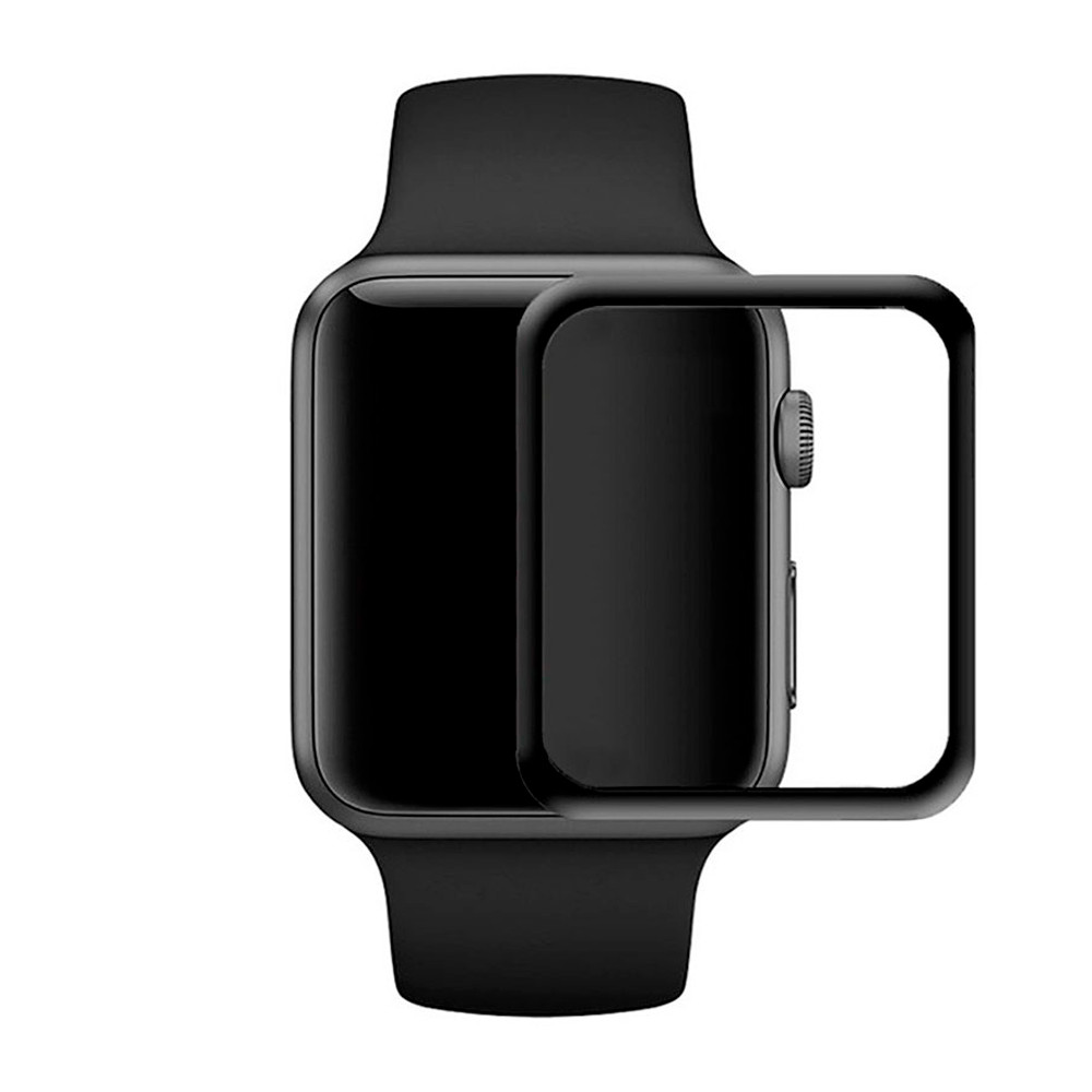 Защитное стекло 5D For Apple Watch ((AW38B5), 38mm, Black)