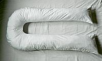Наволочка на подушку для беременных и кормления ребенка U-340 - цвет белый