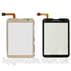 Сенсорный экран (touchscreen) для Nokia C3-01