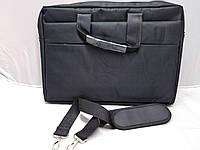 Сумка для Ноутбука 15,6 дюйм Черная Тканевая Отличное Качество Размеры (30 Высота 40 Ширина)