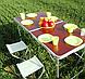 Столовый набор для пикника 55 предмета Picnic Package 55-ОМ, фото 5