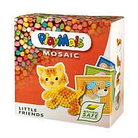 """Мягкий кукурузный конструктор """"Маленькие друзья"""" PlayMais Mosaic (2300 деталей)"""