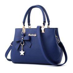 Модная кожаная женская сумочка SPC-1