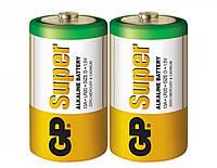 Батарейка GP SUPER ALKALINE 1.5V 13A-S2, LR20, D