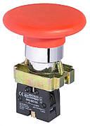 XB2-BS542 Кнопка безопасности. Возврат поворотом. d40mm (A0140010017)