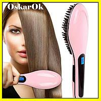 Электрическая расческа выпрямитель FAST HAIR HQT-906, выпрямитель, утюжок для волос, прибор для укладки волос