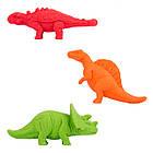 """Ластик YES """"Dinosaurs"""", набор 3шт, фото 2"""