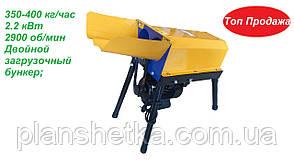 Кукурузолущилка електрична лущилка кукурудзи DY-003 (2,2 квт, 350 кг/год) подвійна