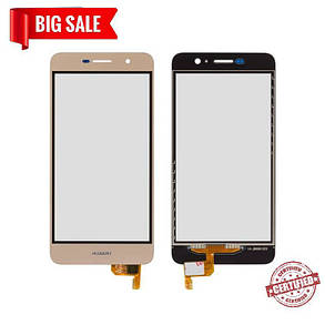 Сенсор (тачскрін) Huawei Y6 Pro, Honor 4c pro, Enjoy 5 золотий, фото 2