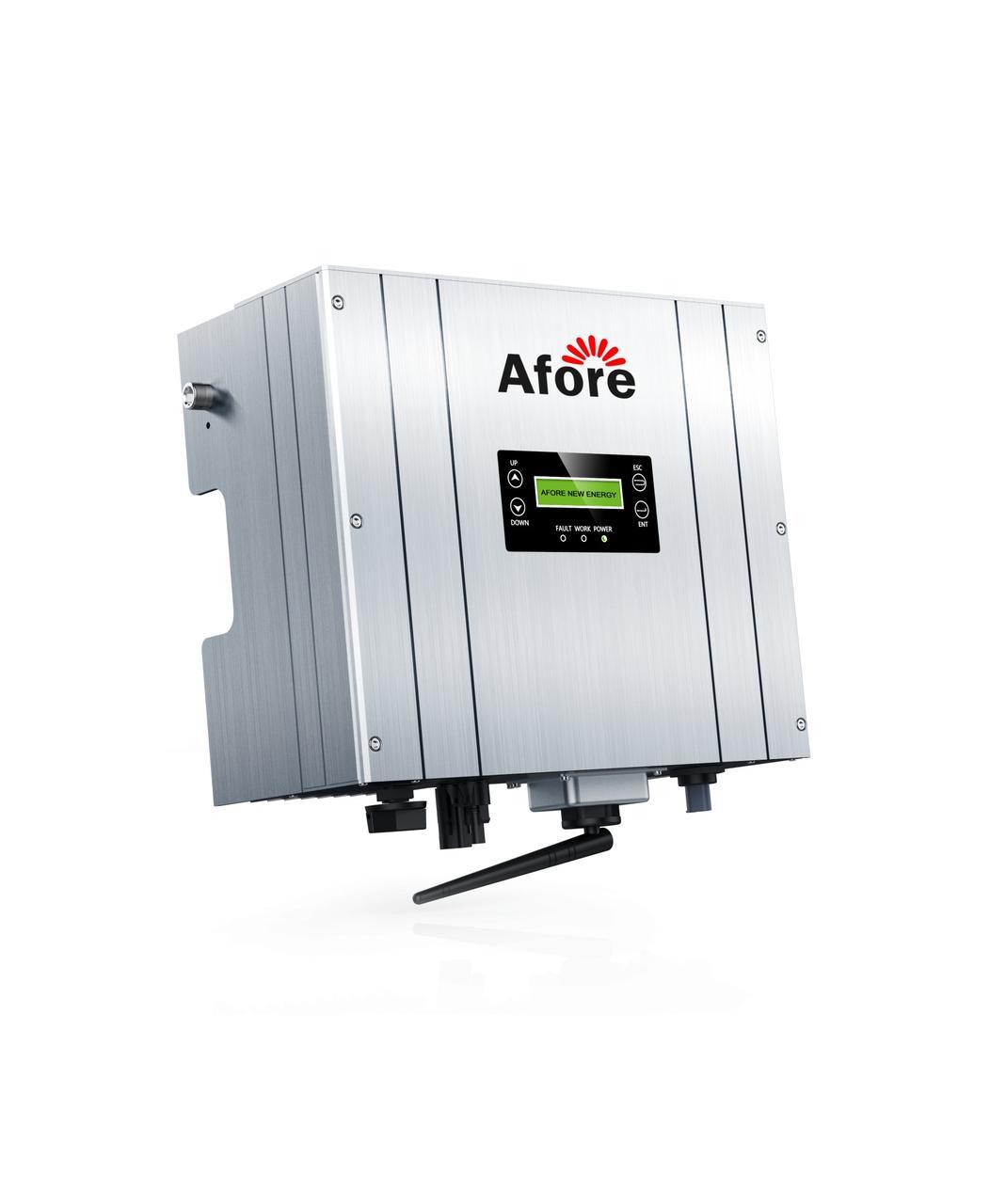 Сетевой однофазный бестрансформаторный инвертор Afore HNS1000TL-1 1 кВт 1-фазный  1 МРРТ