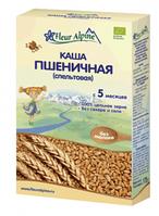 Каша безмолочная Fleur Alpine Organic пшеничная (спельтовая) 175 г с 5 мес.