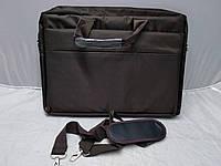 Сумка для Ноутбука 15,6 дюйм Коричневая Тканевая Отличное Качество Размеры (30 Высота 40 Ширина)