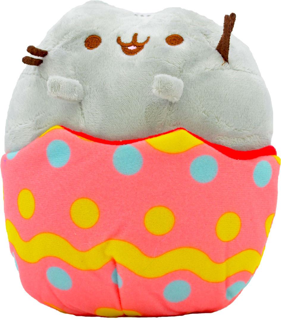 Мягкая игрушка кот в яйце Pusheen cat (n-648)