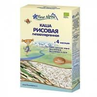 Каша безмолочная Fleur Alpine Organic рисовая гипоаллергенная 175 г, с 4 мес.