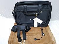 Сумка для Ноутбука 15,6 дюйм Серая Тканевая Отличное Качество Размеры (30 Высота 40 Ширина)