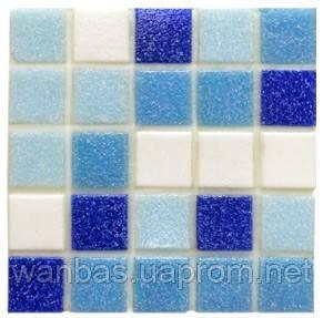 Мозаика стеклянная GL mix 8 ( Бумажная основа)
