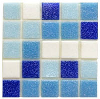 Мозаика стеклянная GL mix 8 ( Бумажная основа), фото 1