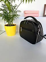 Сумка Weiliya Fashion на два отделения черная женская, фото 3