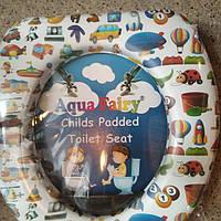 Накладка, вставка детская, сиденье для унитаза детская ,мягкая, удобная Украина Aqua Fairy
