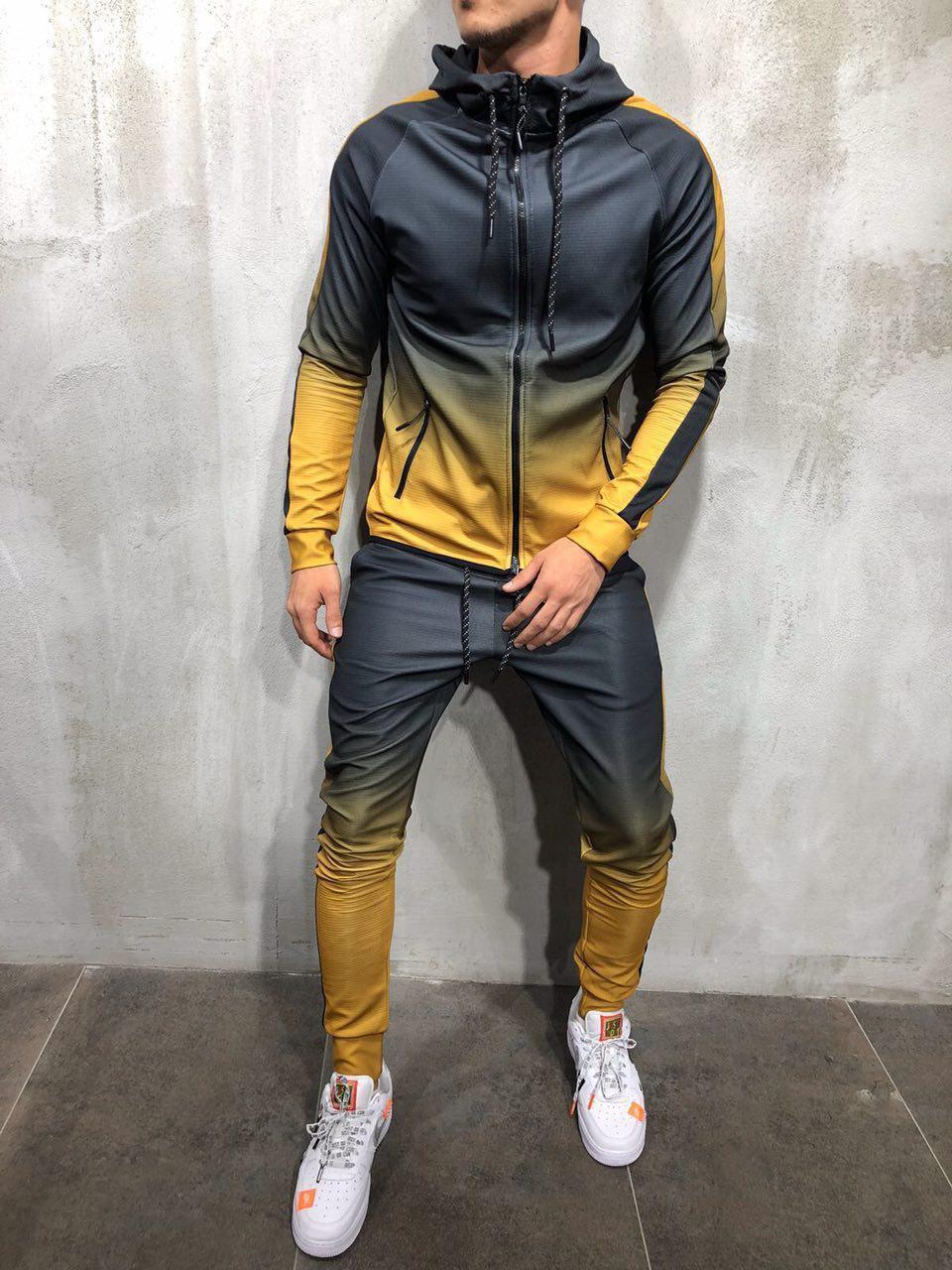 Спортивный костюм мужской омбре