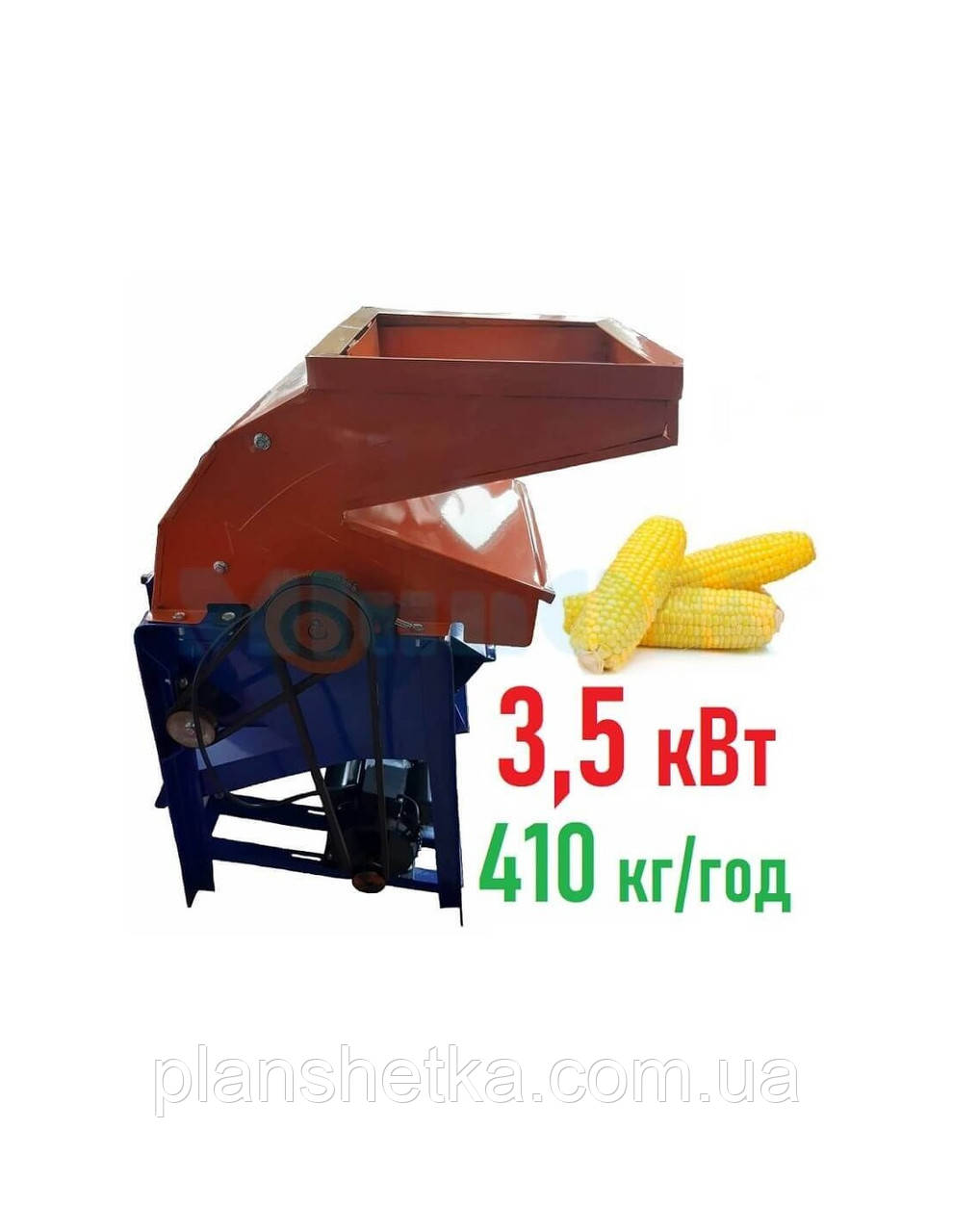 Кукурузолущилка електрична лущилка кукурудзи DY-005 (3,5 квт, 410 кг/год)