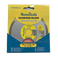 Круг алмазный NovoTools Basic 125х5,0х22.23  Плитка